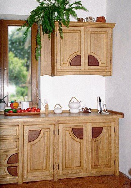 1032 - Meble drewniane na zamówienie kuchenne.