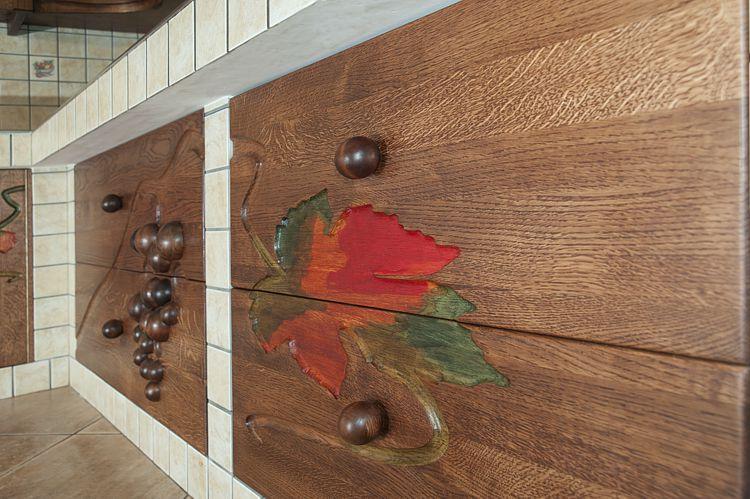 11712 artystyczne szuflady drewniane