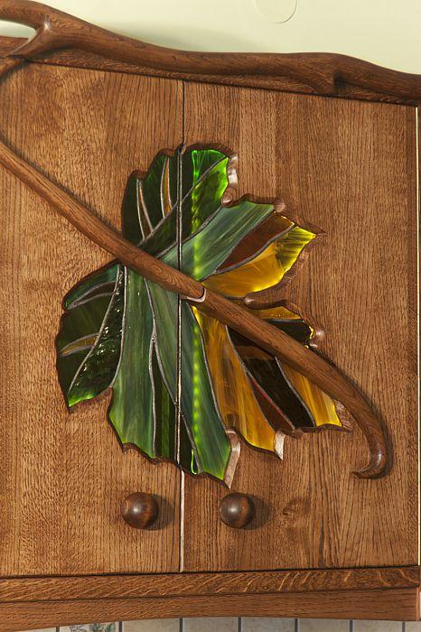 1179 artystyczny witraz drzwi szafek kuchennych