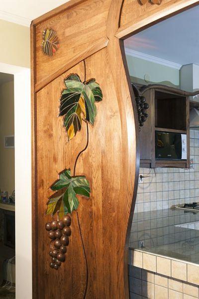 witraze scianki dzialowej drewnianej. #1172