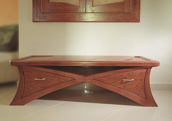 2057 - Meble drewniane do salonu szafka artystyczna meble autorskie.