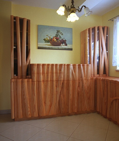 meble-z-drewna jesionowe unikatowe salon #2062