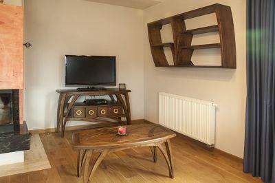 dębowe meble drewniane pokój dzienny #2071
