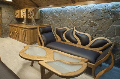 meble drewniane stolik lawa dębowe szafki kuchenne #2087