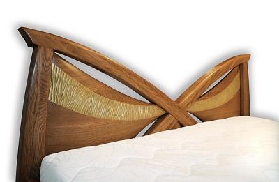 Meble z drewna do sypialni lozko artystyczne na wymiar unikatowe dizajnerskie. #3042 w2