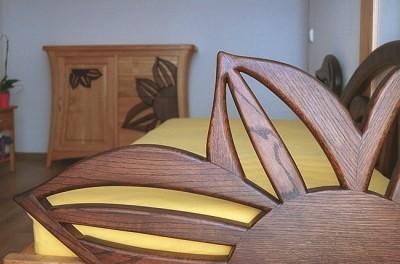 meble drewniane do sypialni. #3161