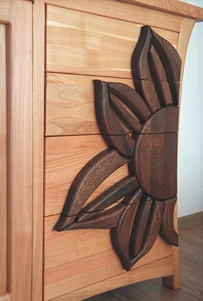 komoda drewniana artystyczna> #3163