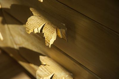 witryna drewniana artystyczne uchwyty szuflad. #31712