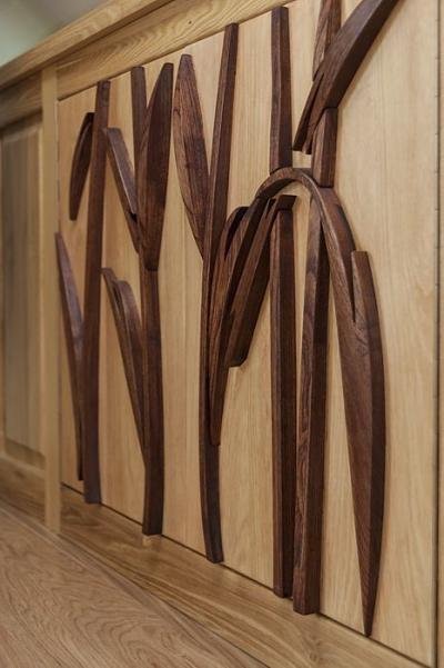 artystyczne drzwi szafek drewnianych. #3175