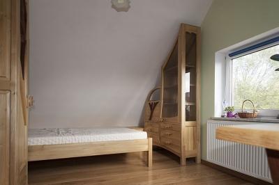 sypialnia drewniana. #3178