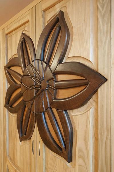 drewniana szafa dębowy detal #3183