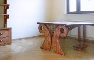 dębowe-meble-drewniane-biurko #4062