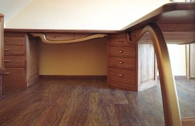 meble-drewniane-biurko-dębowe #4086