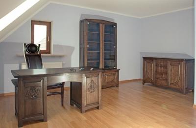 meble-drewniane-dębowe-gabinetowe #4091