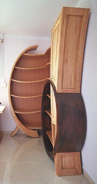 meble-artystyczne-drewniane-regał #4107