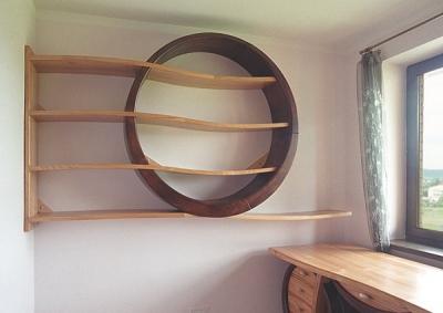 meble-drewniane-regał #4102