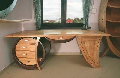 drewniane-artystyczne-biurko #4103