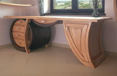 meble-z-drewna-unikatowe-biurko #4104