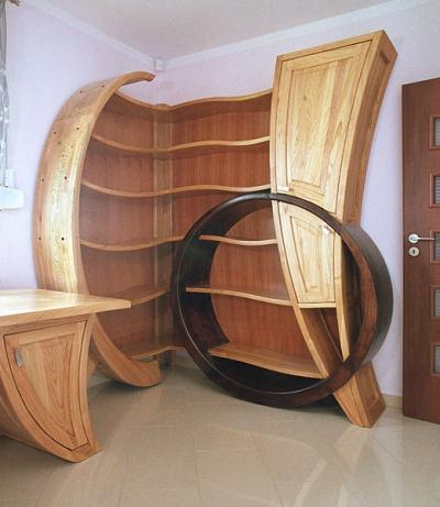regał-meble-artystyczne-drewniane #4106