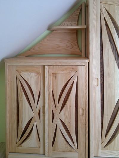meble-z-drewna-artystyczne-szafy #4112-1