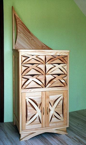 meble-drewniane-komoda-artystyczna #4114
