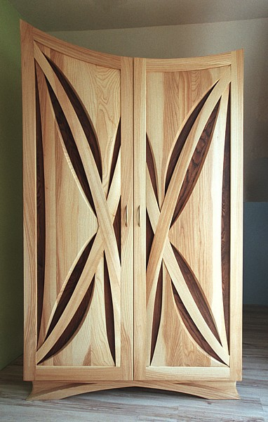 meble-drewniane-szafa-unikatowa #4113
