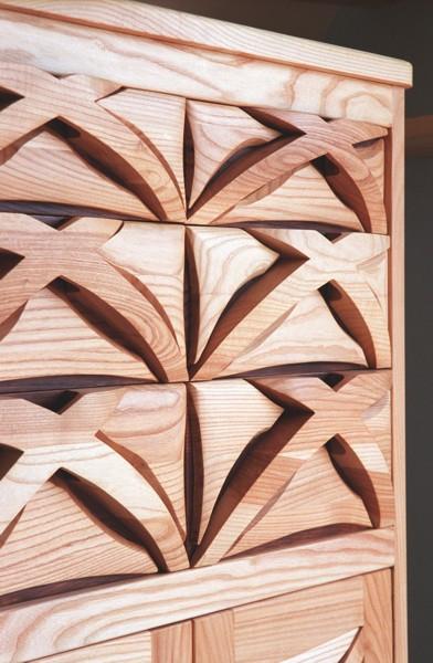 komoda-z-drewna-jesionowa #4114-1