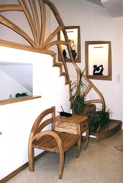 drewniane-schody-unikatowe-dębowe #5042