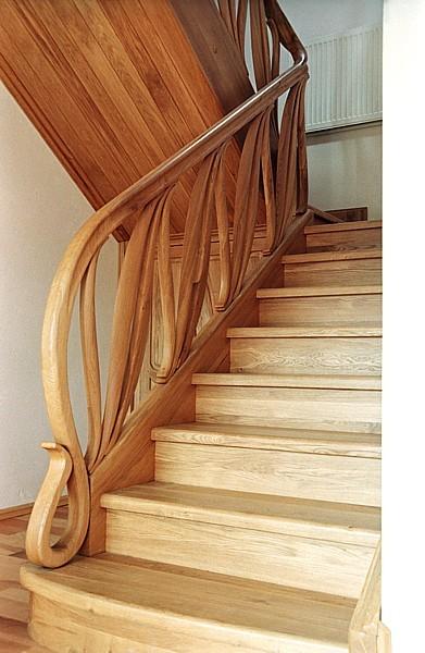 balustrada-schody-drewniane-artystyczne #5072