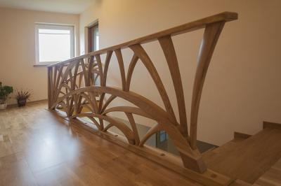 artstyczna balustrada schodów #5105