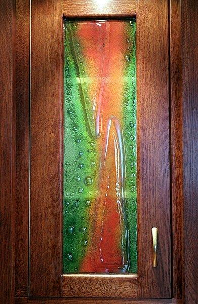 Meble drewniane dębowe artystyczne fusing. #6193