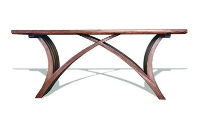 Meble drewniane, ława dębowa do salonu, meble artystyczne unikatowe autorskie na wymiar. #6241