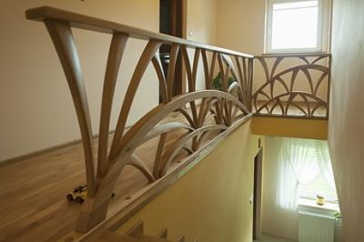 Schody, balkony, barierki