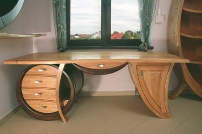 Meble gabinetowe, biurka