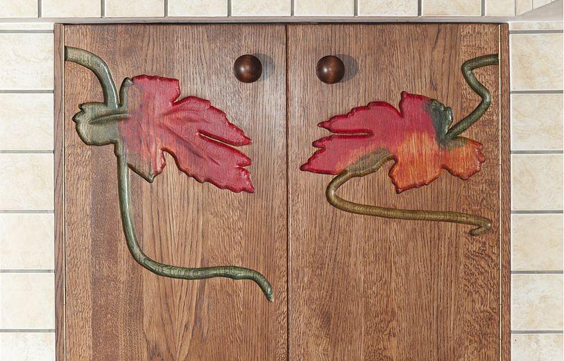 malowane drzwi szafek kuchennych