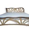 Dębowe łóżko i barierka