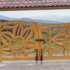 Drewniana brama
